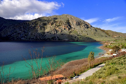 kourna lake chania
